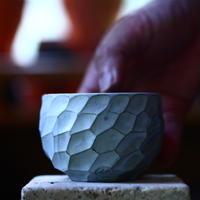 N/OH     コロ鉢  (ブルーグレー釉) XS   no.1004102
