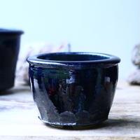 Tadao  Akutsu 〝瑠璃油″   /   humanity pot       no.91358