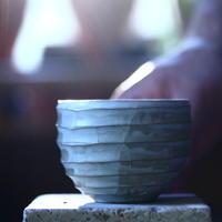 N/OH     コロ鉢  (ブルーグレー釉) XS   no.100497