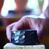 N/OH     コロ鉢  (ブラック釉) サイズ2   no.100463