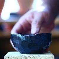 N/OH     コロ鉢  (ブラック釉)  XS   no.100456