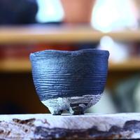 joint pot   安西桂   ×   安西岳郎   親子鉢〝土の子″  M  no.82372