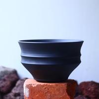 Yuta  Uchida 〝black  clay″   /   humanity pot       no.510-7