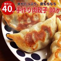 湘南麻生製麺 手作り肉餃子 40g×30ヶ入