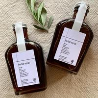 no name herbal syrup-warmth base