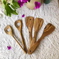 Olive tree spatula