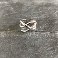 silver925 xx ring