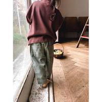 【ご予約】corduroy pants