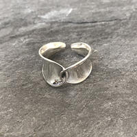 silver925   distortion  ring