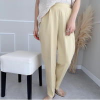 color tapered pants