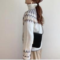 Nordic  turtleneck knit
