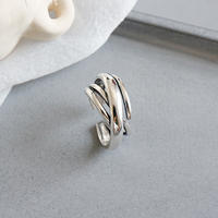 silver925  douex ring