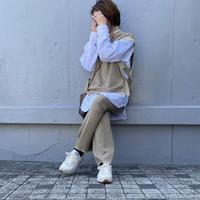 Jacquard short  vest