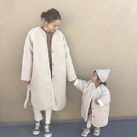 stich boa coat(junior)