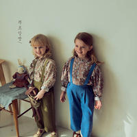 【ご予約】flower petit frill blouse