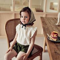 《ご予約》frill sleeveless blouse