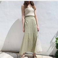 linenlike skirt
