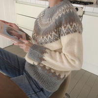 Nordic  soy  knit