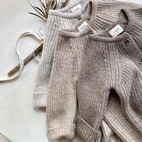 rib  knit  rompers