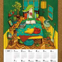 2017カレンダー(ポスタータイプ)