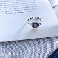 Pinky ring ME81 Silver925