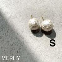 コットンパールピアスS   Silver925ポスト