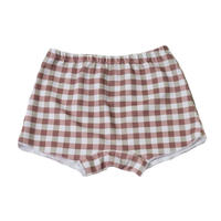 half pants/Brown