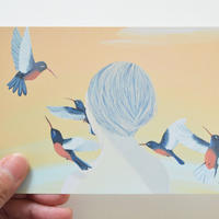 """ポストカード""""Hummingbird"""""""