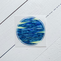 Water Planet Night  sticker