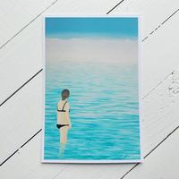 """ポストカード""""Between the water"""""""