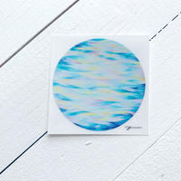 Water Planet Opal ocean  sticker