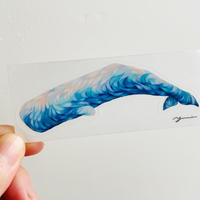 Spermwhale sticker