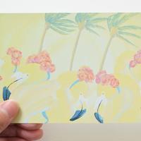 """ポストカード""""Flamingos"""""""
