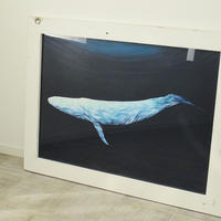 Blue whale / B1 size原画
