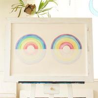 Rainbow circle / B2 size原画