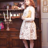 シークレットガーデンドレス-キャラメルアンティーク