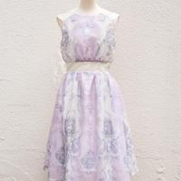 人魚の涙柄 ローンドレス -ピンク-