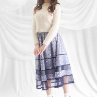 アリスのトランプダンス ハートチュール切替スカート -ブルーベリーパイ-