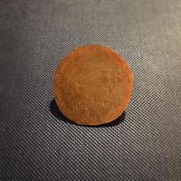 銅のブローチ