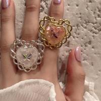 【Holic mii】バタフライのロマンティックリング