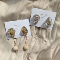 【sucré】nuance stone pierce / earring