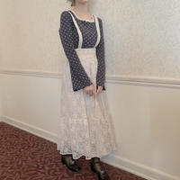 【Treat ürself】2 way lace jumper skirt