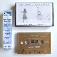"""After Dinner - Souvenir Cassette【""""REPLICA"""" & """"ARTIST"""" SET】+ DL (CS/Album1988/2019 REISSUE)"""