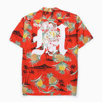 HYENA SHIRT [Used Rayon Hawaiian shirt]