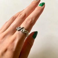 vintage modernist silver 925 ring