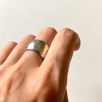 vintage modernist silver ring
