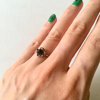 vintage silver small ring