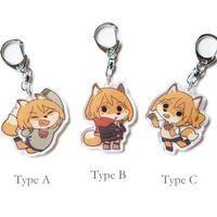 【Yagi】Fox girl(Key chain fob)