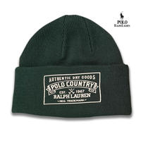 POLO RALPHLAUREN POLO COUNTRY KNIT CAP