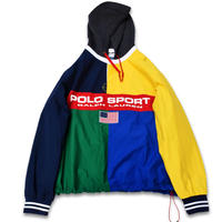 POLO SPORT NYLON COTTON ANORAK